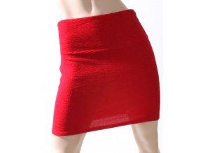ANALOGY dámská sukně červená