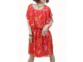 Olivia Mattheus dámské šaty oranžové