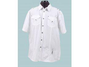 MECCA USA pánská košile bílá