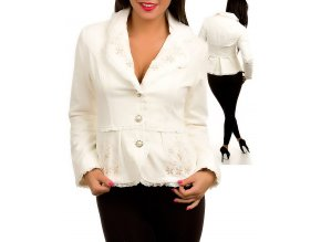 MISHA U.S.A. dámské sako/kabát bílé