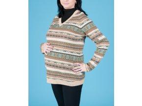 GAP MATERNITY těhotenský svetr s proužky