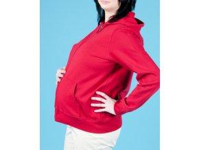 GAP MATERNITY těhotenská mikina červená