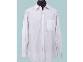 TASSO ELBA pánská košile bílá s proužkem