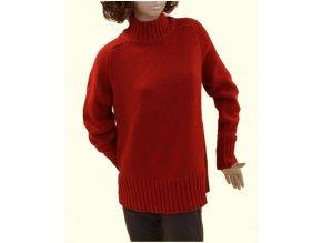 GAP MATERNITY těhotenský svetr červený