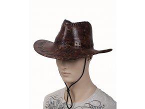 AB pánský kovbojský klobouk hnědý
