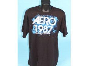 Aéropostale pánské tričko černé