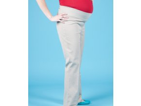 GAP MATERNITY těhotenské kalhoty béžové