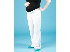 OLD NAVY těhotenské sportovní kalhoty bílé