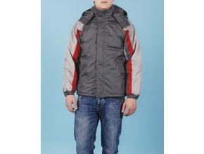 SPORTIER pánská/chlapecká bunda s červeným pruhem