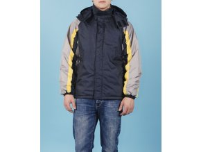 SPORTIER pánská/chlapecká bunda se žlutým pruhem