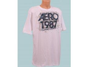 Aéropostale pánské tričko bílé AERO 1987