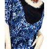 JUTA dámská halenka modrá leopard