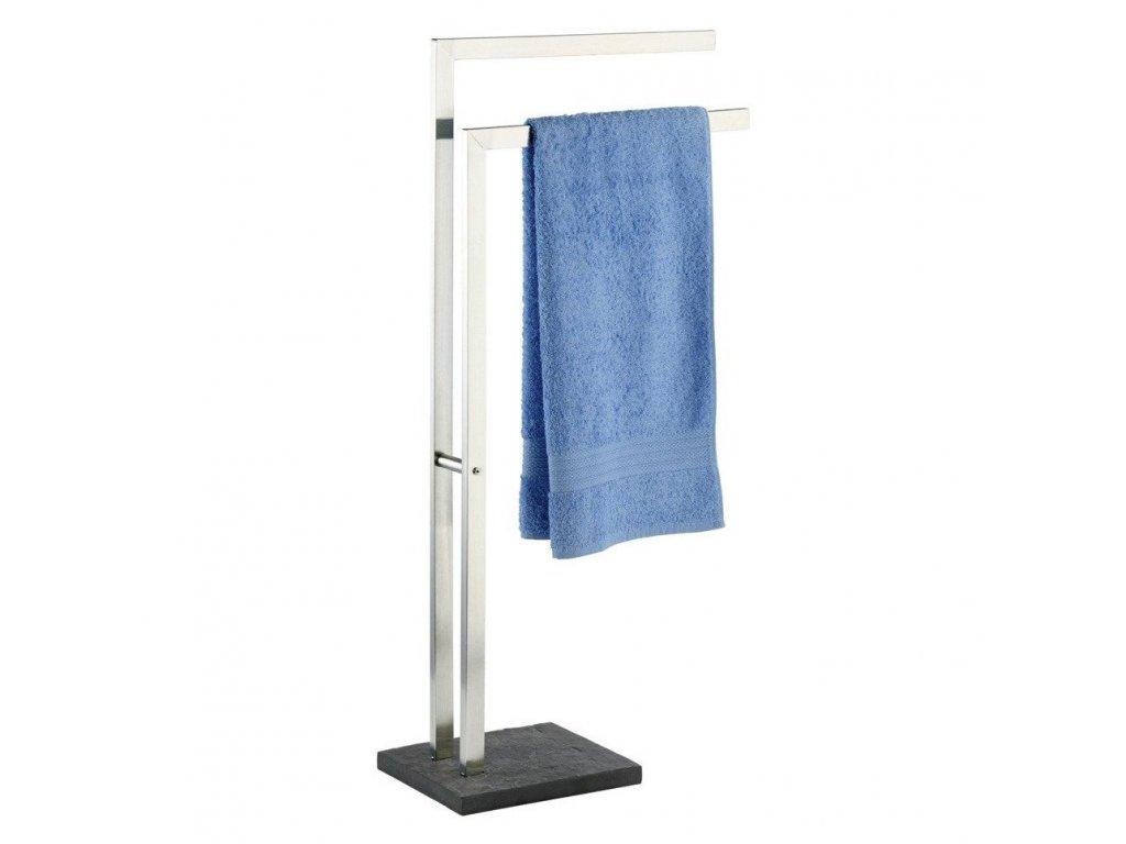 Stojan na ručníky, 2 ramena, věšák SLATE ROCK