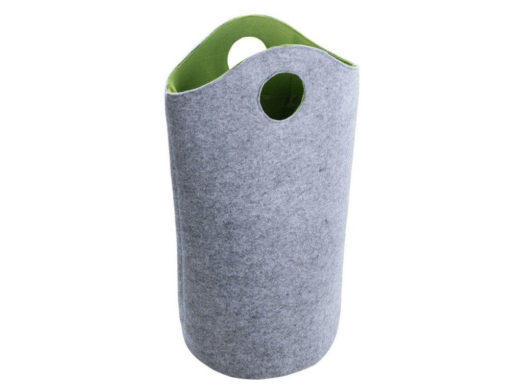Plsťová taška na prádlo, nákupy UNIVERSAL - 2 v1