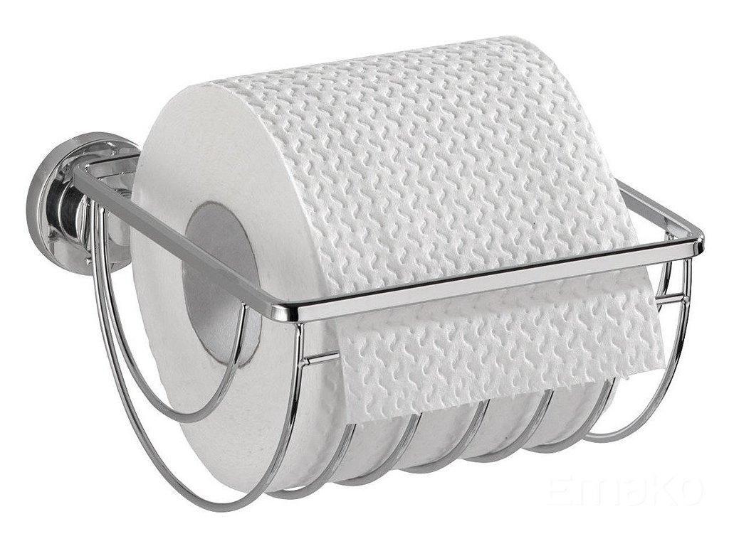Držák na toaletní papír BOVINO, montáž Power-Loc, nerezová ocel