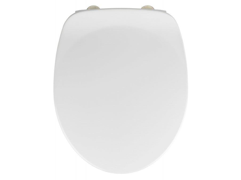 WC prkénko ARMONIA, EASY CLOSE, duroplast, bílé