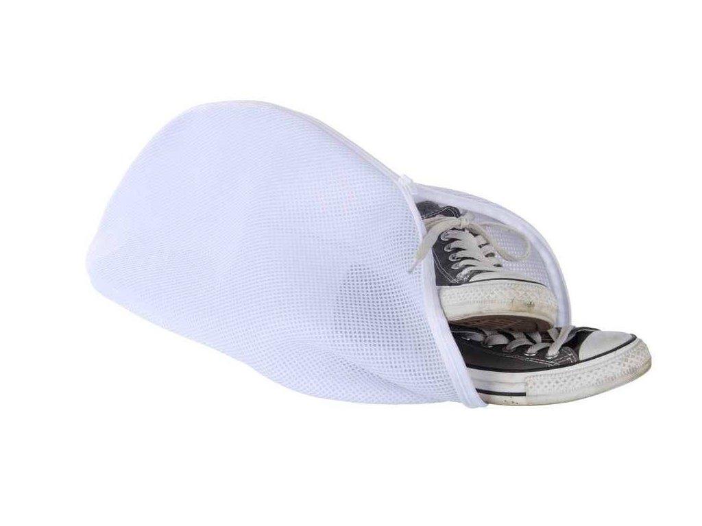 Ochranný sáček na boty, bílá barva