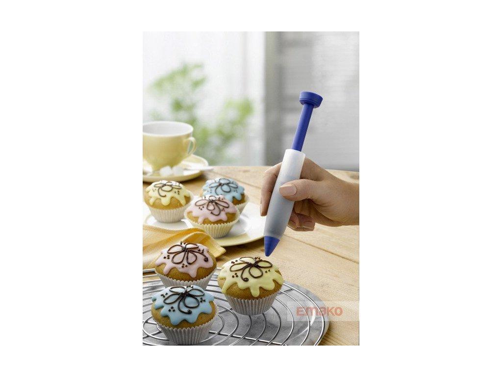 Silikonové pero na zdobení dortů