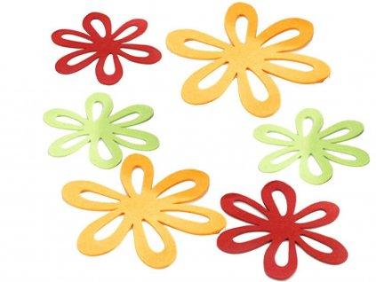 Plastové podložky na stůl - 6 kusů v sadě