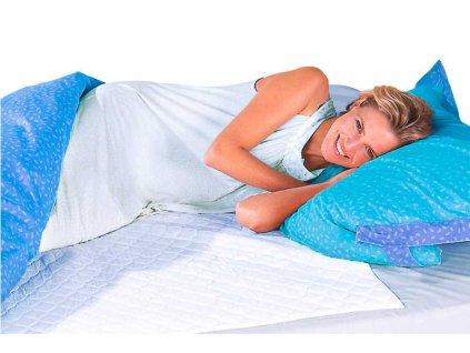 Voděodolný ochranný potah na matraci  AQUA STOP, 90 x 90 cm