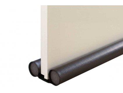 Zarážka do dveří, oboustranná 40 cm, černá