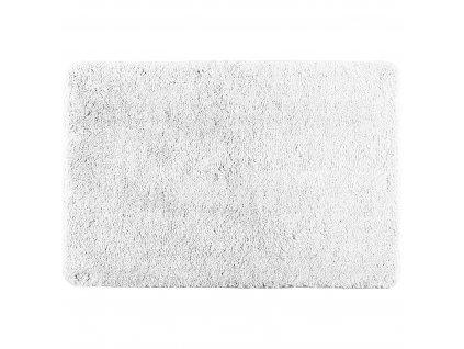 Bílá koupelnová předložka POLY WHITE, 80 x 50 cm