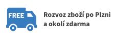 Rozvoz zboží po Plzni a okolí zdarma!