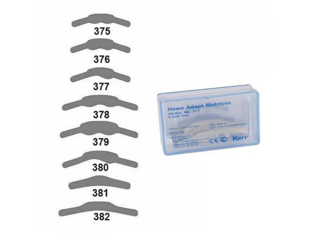 ADAPT MATRICE HAWE (varianta Matrice premolárové vyšší, 30ks)