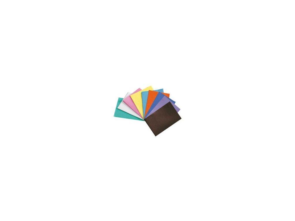 Roušky papírové skládané (varianta Roušky: 500ks, různé barvy)