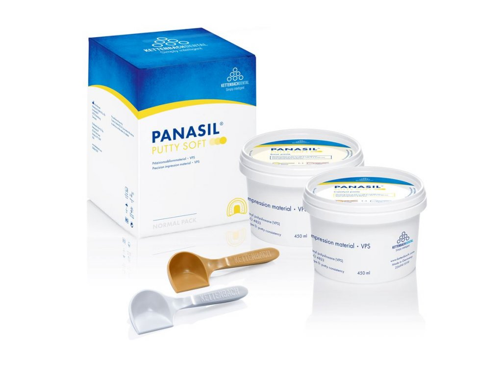 Panasil Putty (varianta Panasil Putty 900 ml - ruční míchání)
