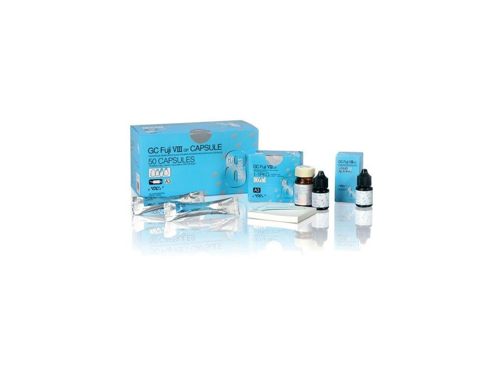 GC FUJI VIII GP prášek+tekutina / kapsle (varianta C4, 50 kapslí)