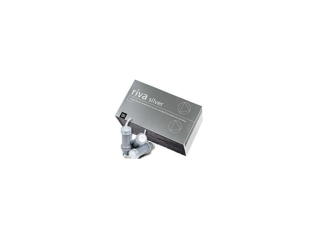 Riva Silver - kapsle (varianta Riva Silver: 50 kapslí)
