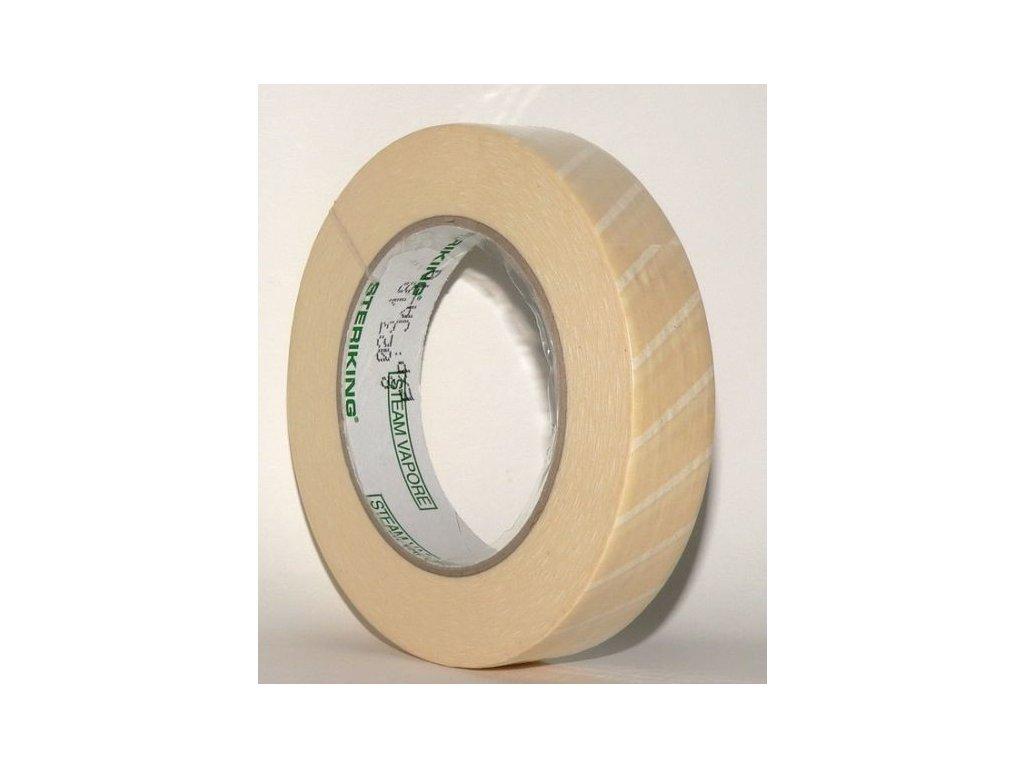 Sterilizační páska pro PS (varianta Sterilizační páska pro PS 19mm x 50m s indikátorem)