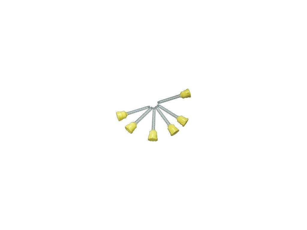 Míchací kanyly žluté (varianta 50ks)