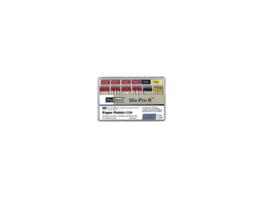 Papírové čepy kalibrované Pro-R (Reciproc) (varianta Papírové čepy kalibrované Pro-R: sada)