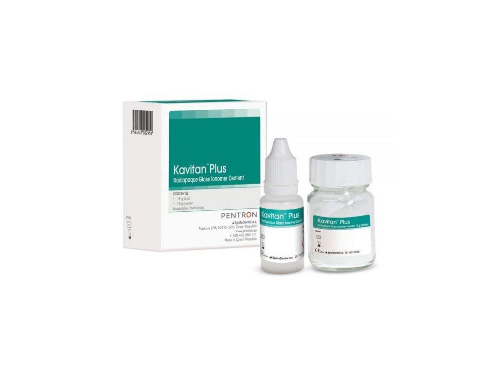 Kavitan Plus (varianta Kavitan Plus: prášek + tekutina (15g plv., 15g liq.): odstín  A2)