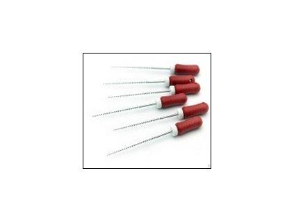 K-File / Pilník (varianta K-File: délka 21mm, průměr 0,06mm - růžové)