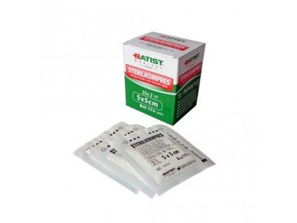 Kompresy z gázy sterilní (varianta Kompresy z gázy sterilní - 7,5x7,5cm, 25x2ks)