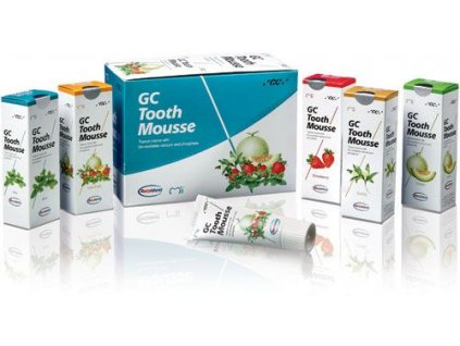 GC Tooth Mousse (varianta Tooth Mousse: 5ks sortiment + 1ks ZDARMA + SLEVA)