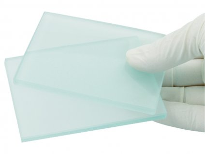 Míchací skleněné podložky
