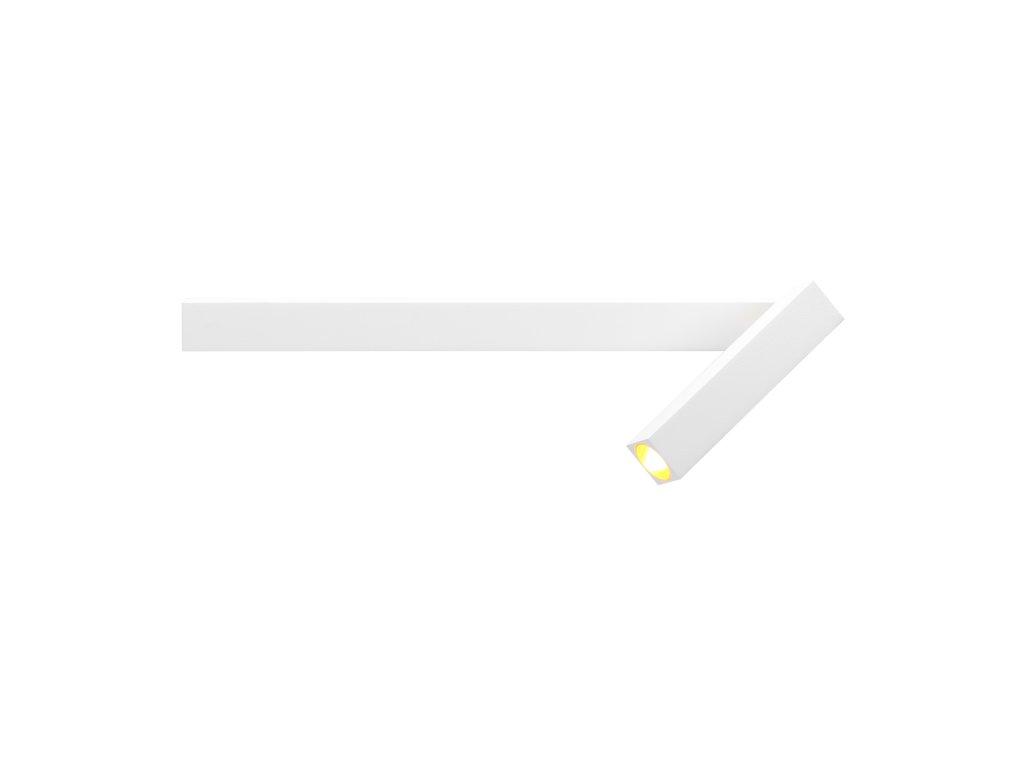 MICK WALL 1.0 (Varianta Barva: Signální Bílá + Zlatá, Teplota chromatičnosti: 2700 K)