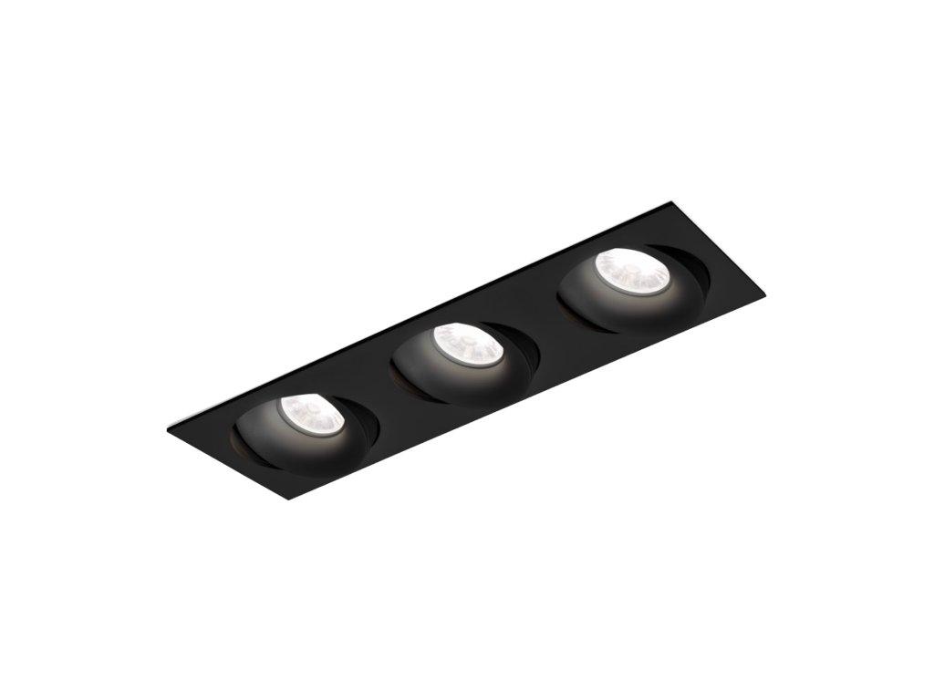 RON 3.0 LED (Varianta Barva: Černá, Teplota chromatičnosti: 2700 K)