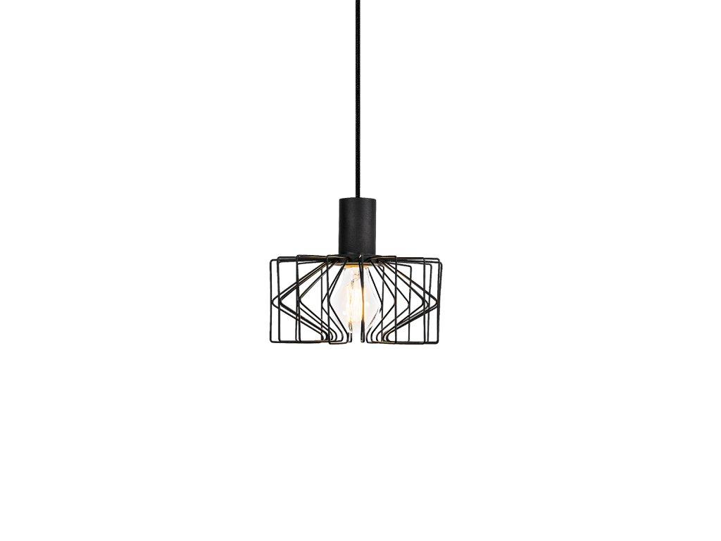 WIRO 2.0 (Barva Černá, Typ lampy E27)