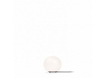 DRO TABLE | FLOOR 1.0 (Barva Černá + Bílé Opálové Sklo, Typ lampy G9)