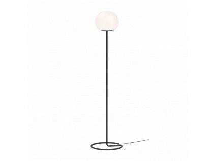 DRO FLOOR 3.0 (Barva Černá + Bílé Opálové Sklo, Typ lampy E27)