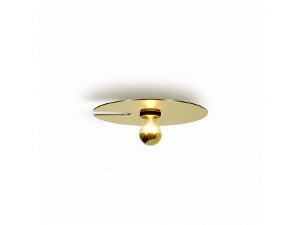 MIRRO 1.0 (Barva Černá + Světle Zlatá, Typ lampy E27)