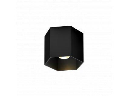 HEXO 1.0 LED (Varianta Barva: Černá, Teplota chromatičnosti: 2700 K, Řízení: včetně napáječe | fázově stmívatelné)
