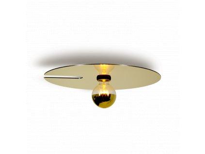 MIRRO 2.0 (Barva Černá + Světle Zlatá, Typ lampy E27)