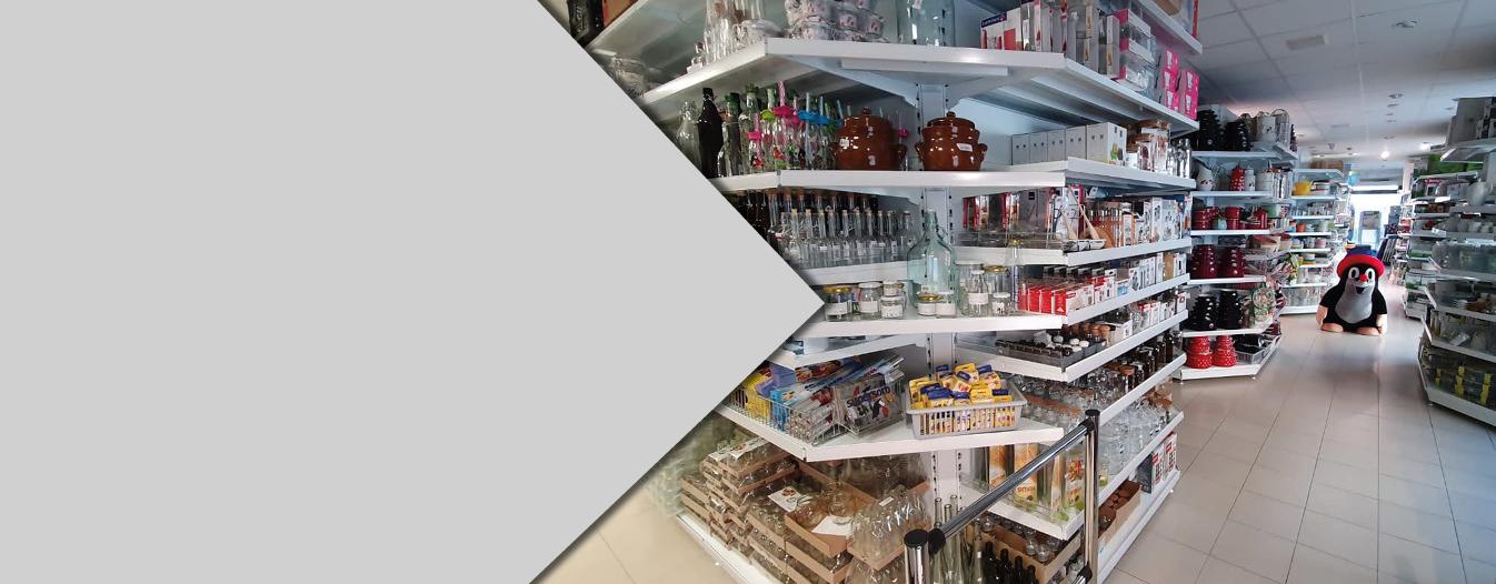 Vybavení obchodů a prodejen - Regály SU5