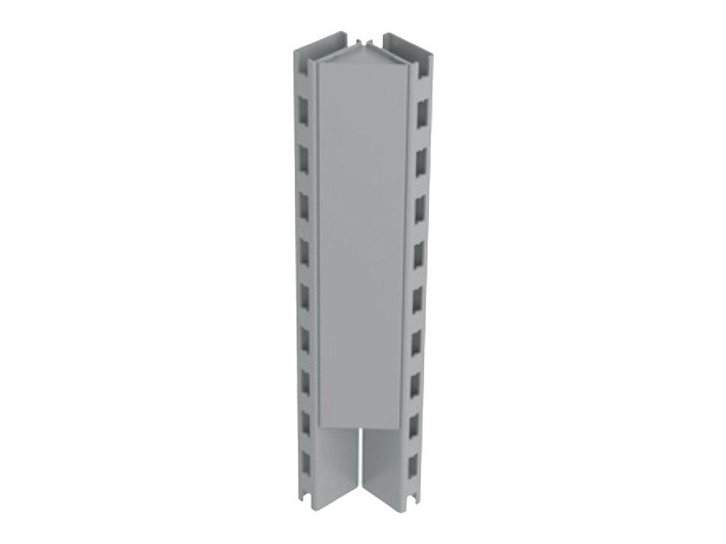 Stojina rohová 90° výška 1200 mm-regálu SU5